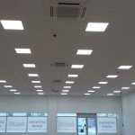 lime square Gorton suspended ceiling