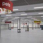 Wilko Ashton Arcades suspended ceiling satin spar ceiling tile